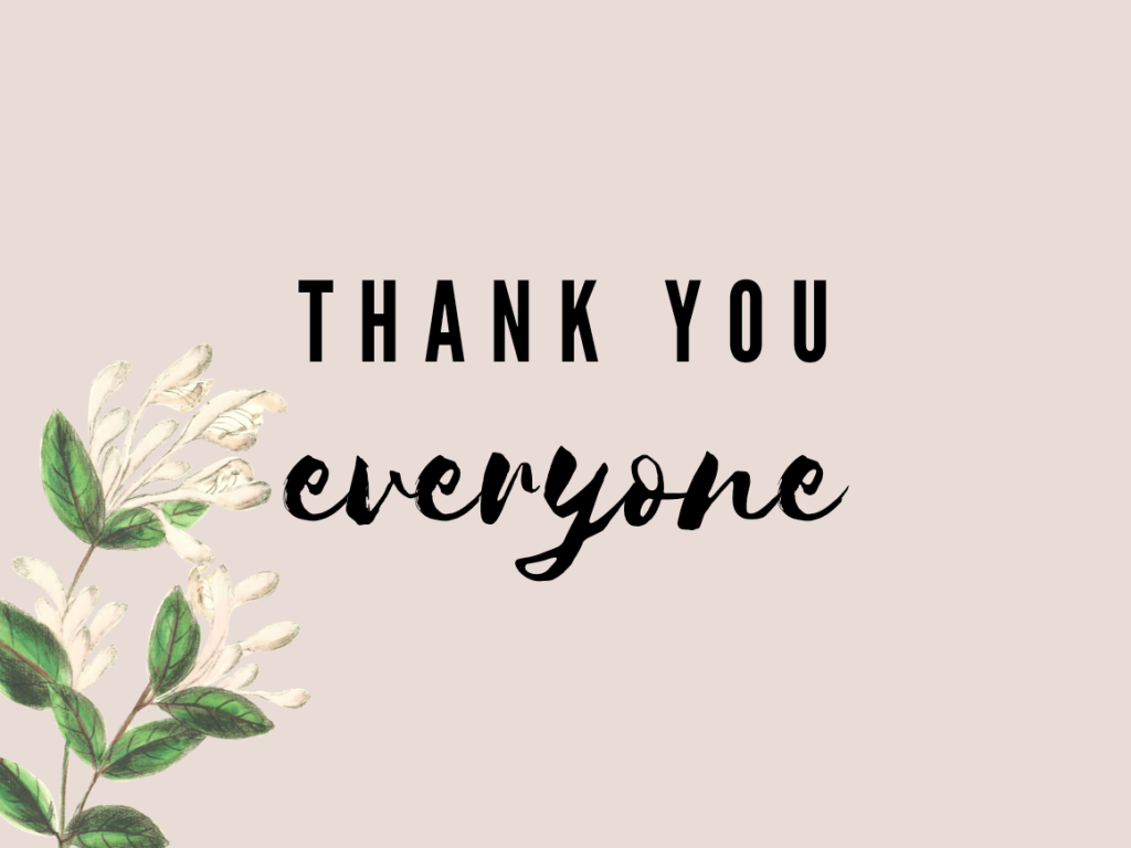 Thank you | Rosell Jardinico