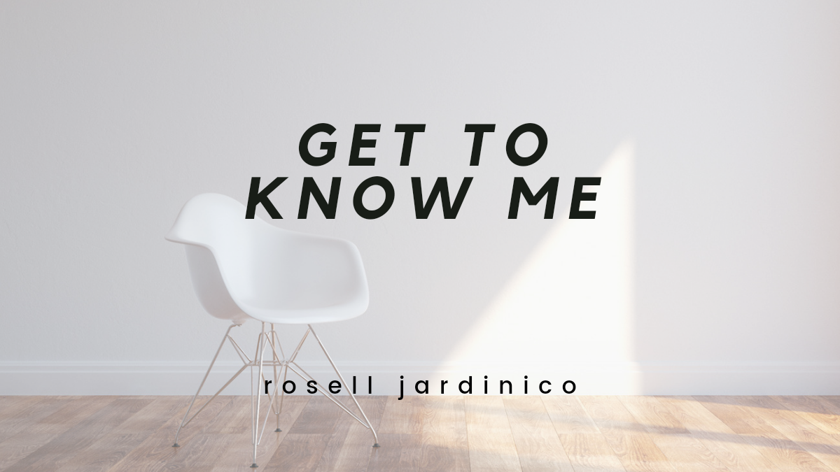 GET TO KNOW ME — A JULYENTRY