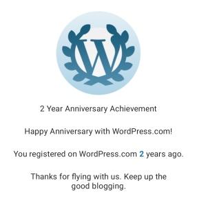 Rosell Jardinico | Two Year Anniversary Achievement