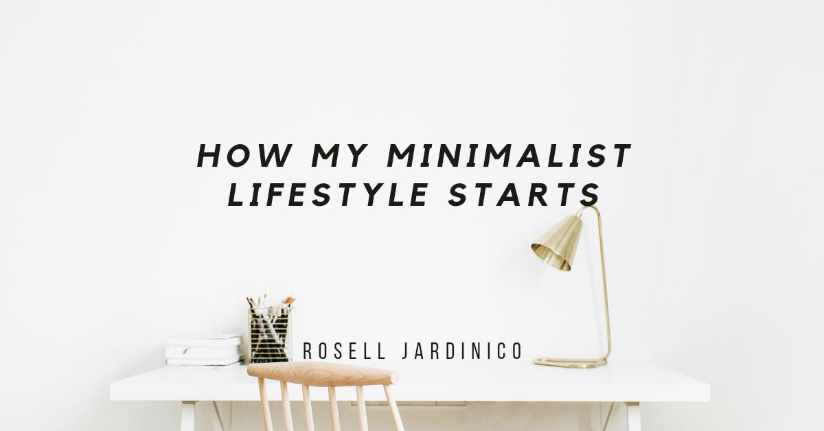 How my Minimalist LifestyleStarts