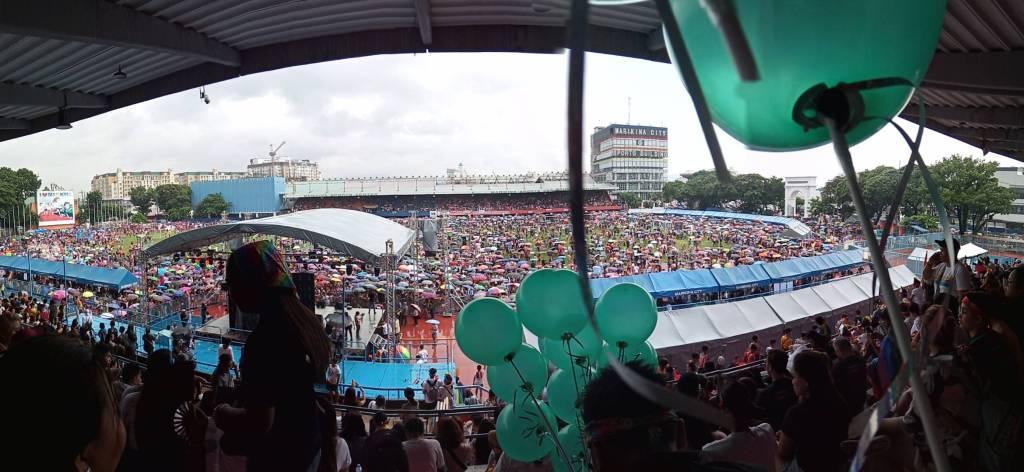 Panoramic View, Pride March 2019 in Marikina City | Rosell Jardinico